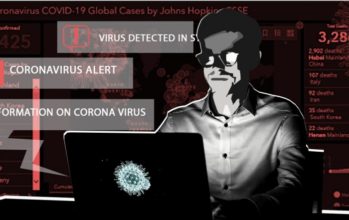 Hackers use coronavirus to spread malware